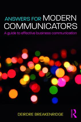 Answers for Modern Communicators: A Guide to Effective Business Communication book cover