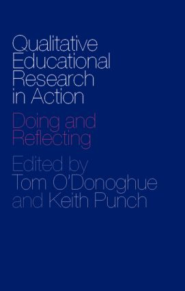 Qualitative Educational Research in Action: Doing and Reflecting, 1st Edition (Paperback) book cover