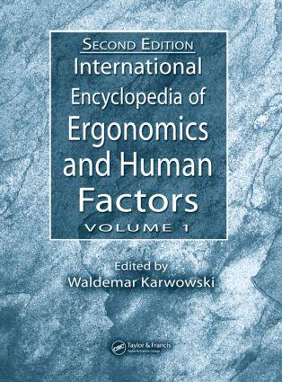International Encyclopedia of Ergonomics and Human Factors - 3 Volume Set: 2nd Edition (Hardback) book cover