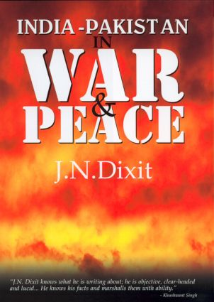 India-Pakistan in War and Peace: 1st Edition (e-Book) book cover
