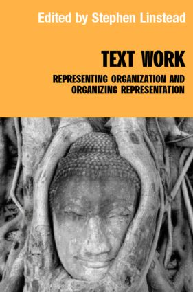 Text/Work: Representing Organization and Organizing Representation (Hardback) book cover