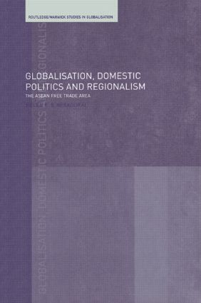 Globalisation, Domestic Politics and Regionalism book cover
