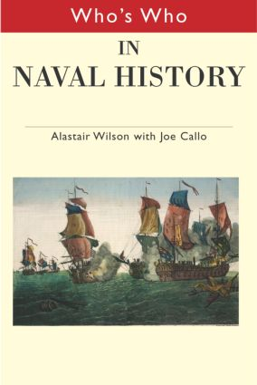 Who's Who in Naval History: From 1550 to the present book cover
