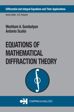 Equations of Mathematical Diffraction Theory: 1st Edition (Hardback) book cover