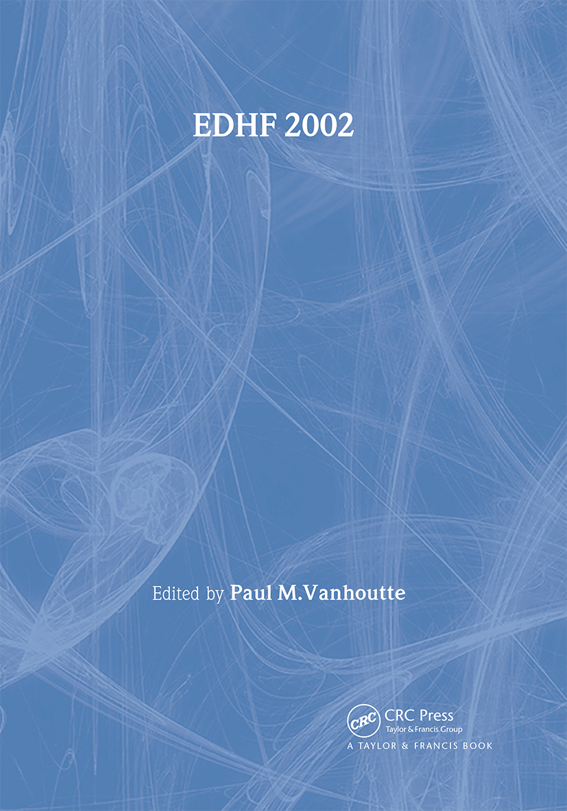 Edhf 2002: 1st Edition (Hardback) book cover