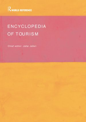 Encyclopedia of Tourism: 1st Edition (Paperback) book cover