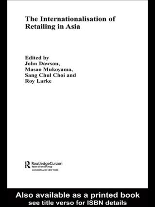 The Internationalisation of Retailing in Asia (Hardback) book cover