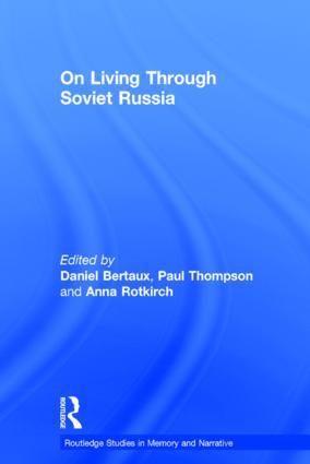 On Living Through Soviet Russia (Hardback) book cover