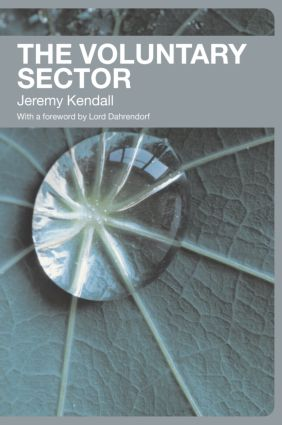 The Voluntary Sector: Comparative Perspectives in the UK, 1st Edition (Paperback) book cover