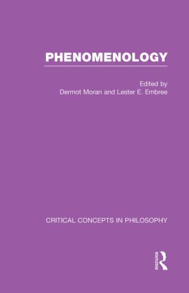 Phenomenology:Crit Con In Phil (Hardback) book cover