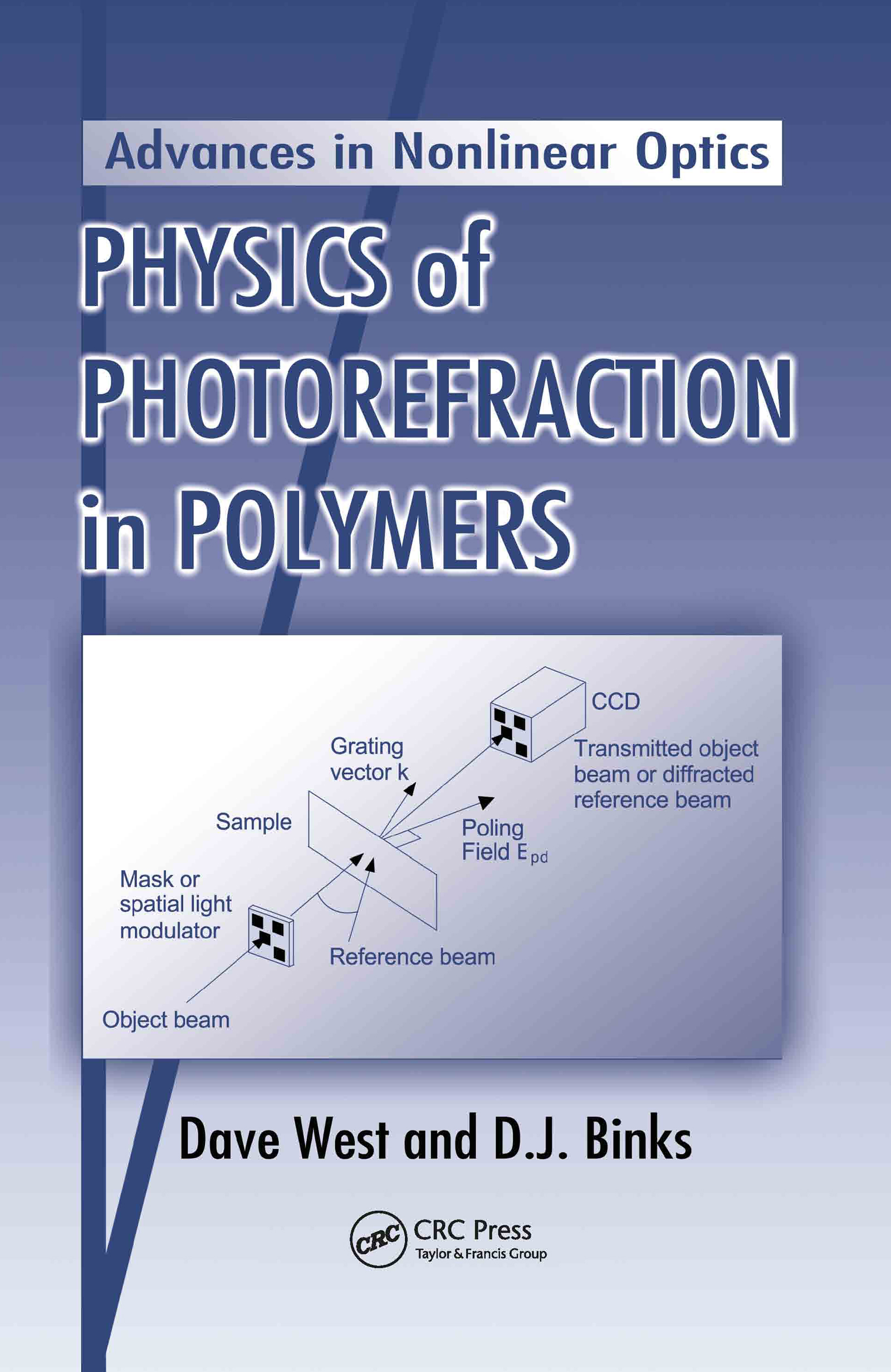 Physics of Photorefraction in Polymers: 1st Edition (Hardback) book cover