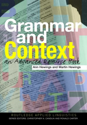 Grammar and Context: An Advanced Resource Book (Paperback) book cover