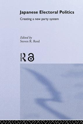 Japanese Electoral Politics: Creating a New Party System, 1st Edition (Hardback) book cover