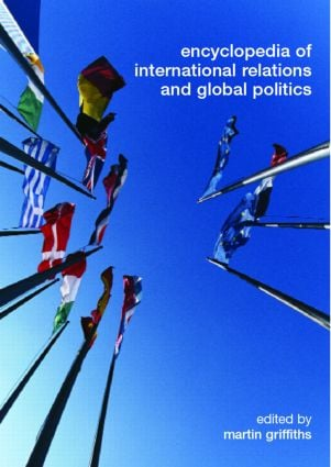 Encyclopedia of International Relations and Global Politics (Hardback) book cover