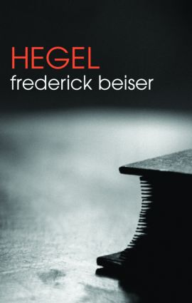 Hegel: 1st Edition (e-Book) book cover