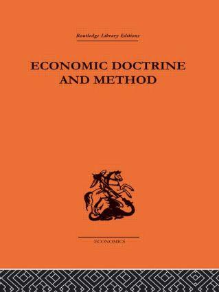 Economic Doctrine and Method