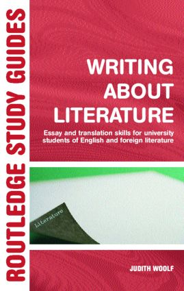 writing about literature essay and translation skills for  writing about literature essay and translation skills for university  students of english and foreign literature