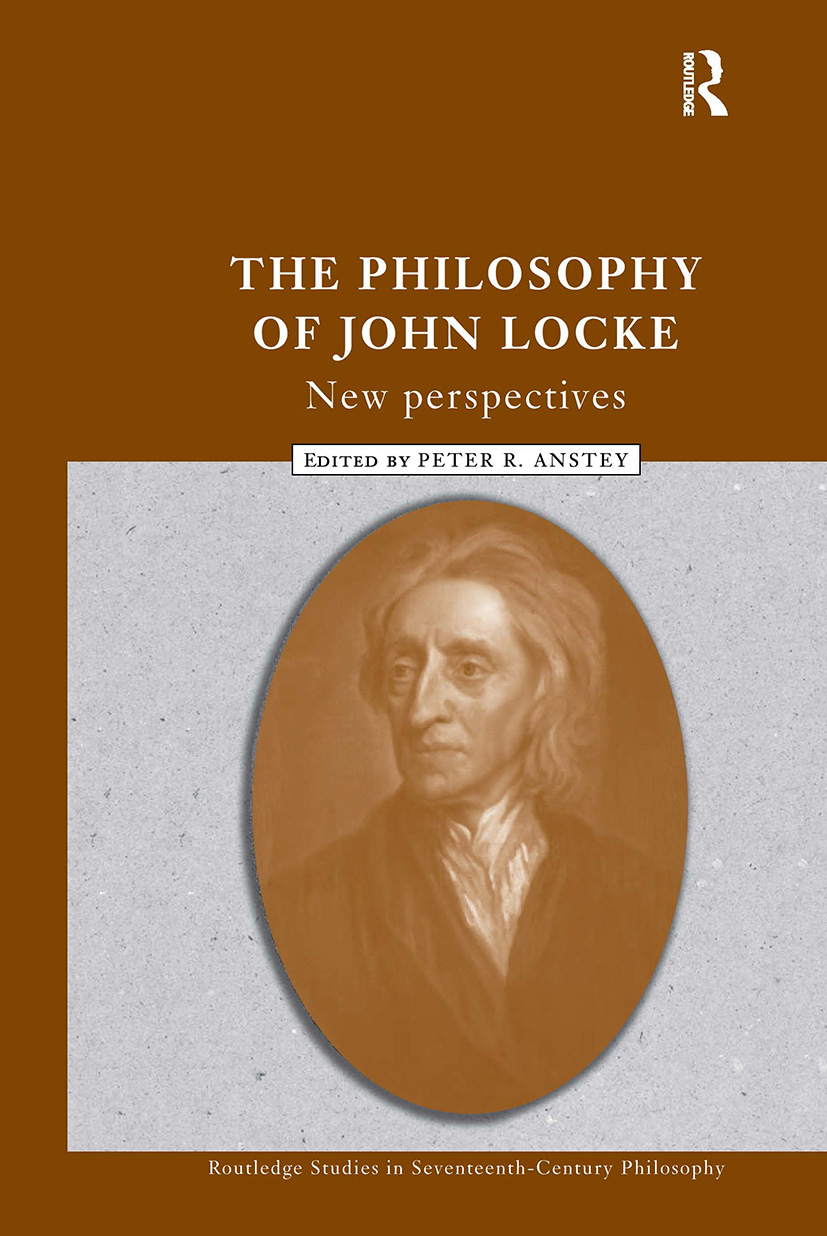 The Philosophy of John Locke: New Perspectives, 1st Edition (Hardback) book cover