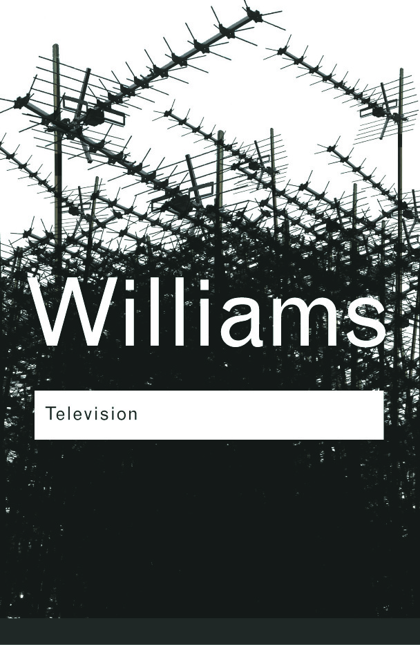 Television: Technology and Cultural Form book cover