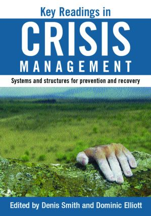 Key Readings in Crisis Management: Systems and Structures for Prevention and Recovery (Paperback) book cover