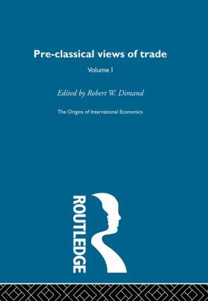 Origins Intl Economics Vol 1: 1st Edition (Hardback) book cover
