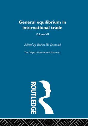 Origins Intl Economics Vol 7 book cover