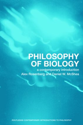 Philosophy of Biology: A Contemporary Introduction (Paperback) book cover