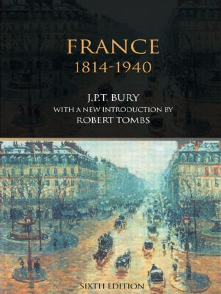 France, 1814-1940: 6th Edition (e-Book) book cover