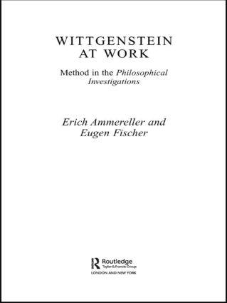 Wittgenstein at Work