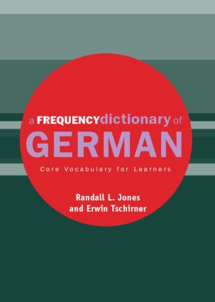 A Frequency Dictionary of German: Core Vocabulary for Learners (Paperback) book cover