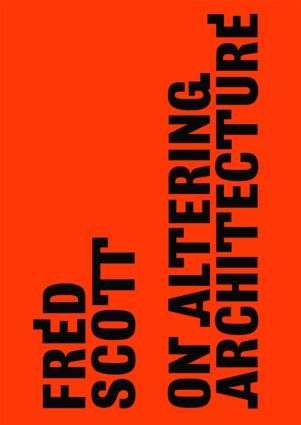 On Altering Architecture (Paperback) book cover