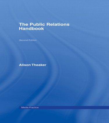 The Public Relations Handbook book cover