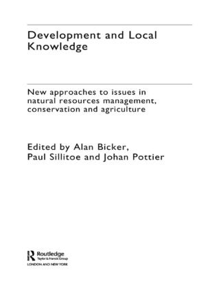 Development and Local Knowledge (Hardback) book cover