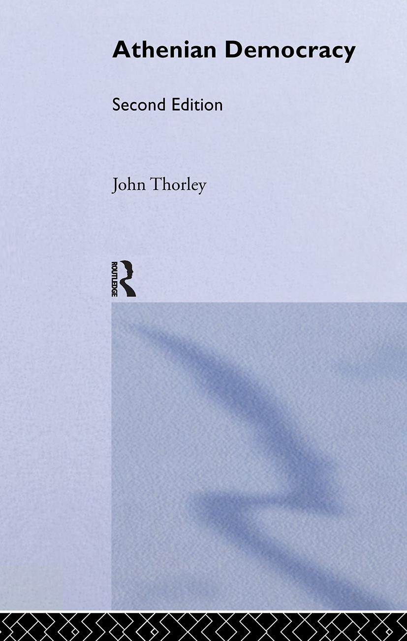 Athenian Democracy: 2nd Edition (Hardback) book cover