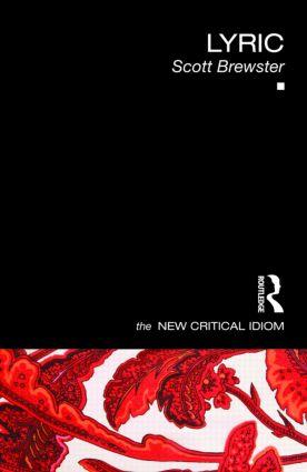 Lyric book cover