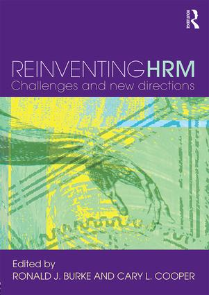 Reinventing HRM: Challenges and New Directions (Paperback) book cover