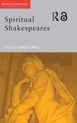 Spiritual Shakespeares (Paperback) book cover