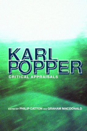 Karl Popper: Critical Appraisals (Paperback) book cover