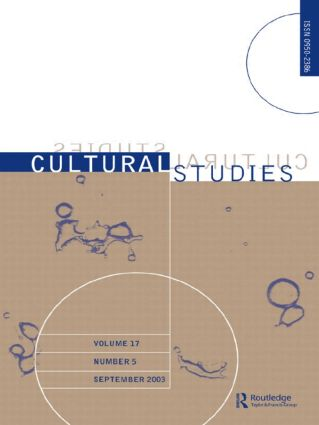Cultural Studies: Volume 17 Issue 5, 1st Edition (Paperback) book cover