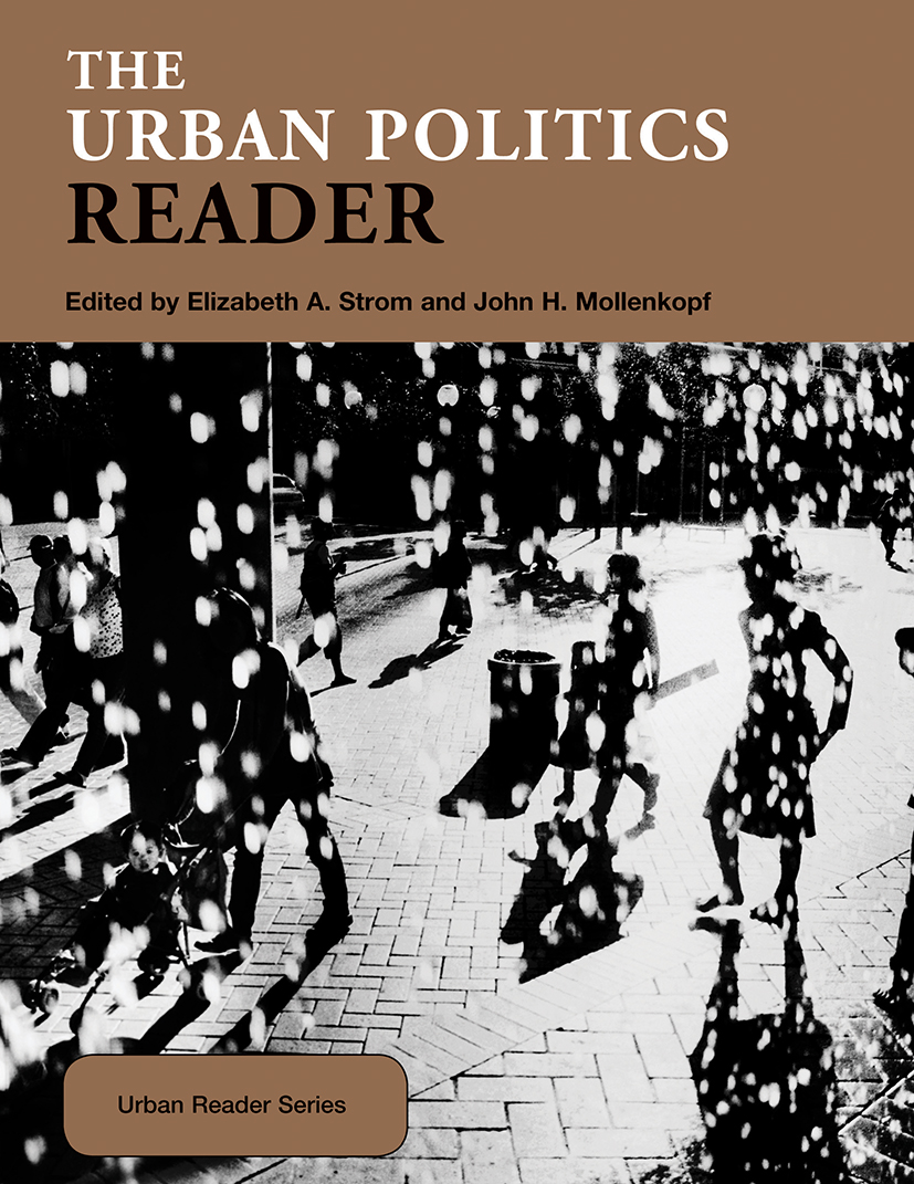 The Urban Politics Reader book cover
