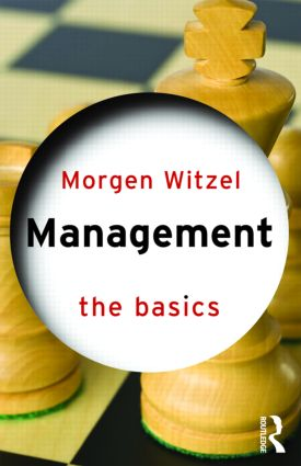 Management: The Basics (Paperback) book cover