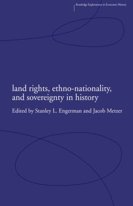 Land Rights, Ethno-nationality and Sovereignty in History (Hardback) book cover