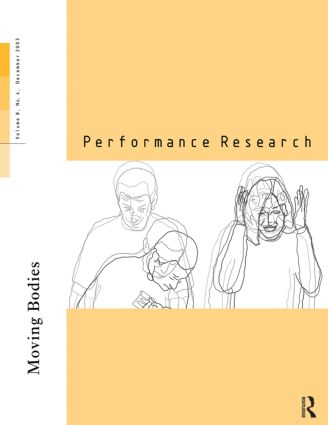 Performance Research V8 Issue book cover
