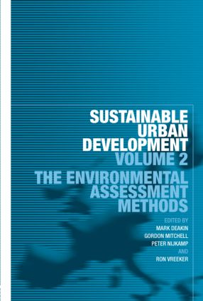 Sustainable Urban Development Volume 2: The Environmental Assessment Methods (Paperback) book cover
