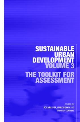 Sustainable Urban Development Volume 3: The Toolkit for Assessment book cover