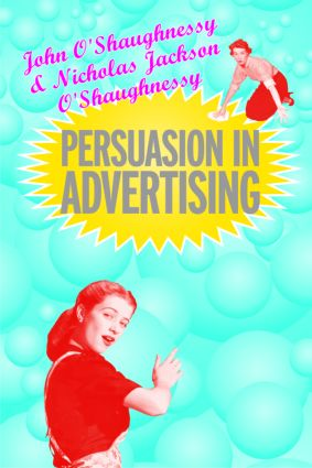 Persuasion in Advertising (Paperback) book cover