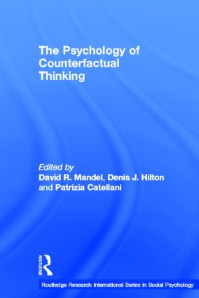 The Psychology of Counterfactual Thinking (Hardback) book cover