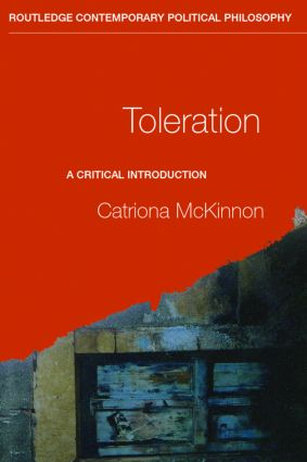 Toleration: A Critical Introduction book cover