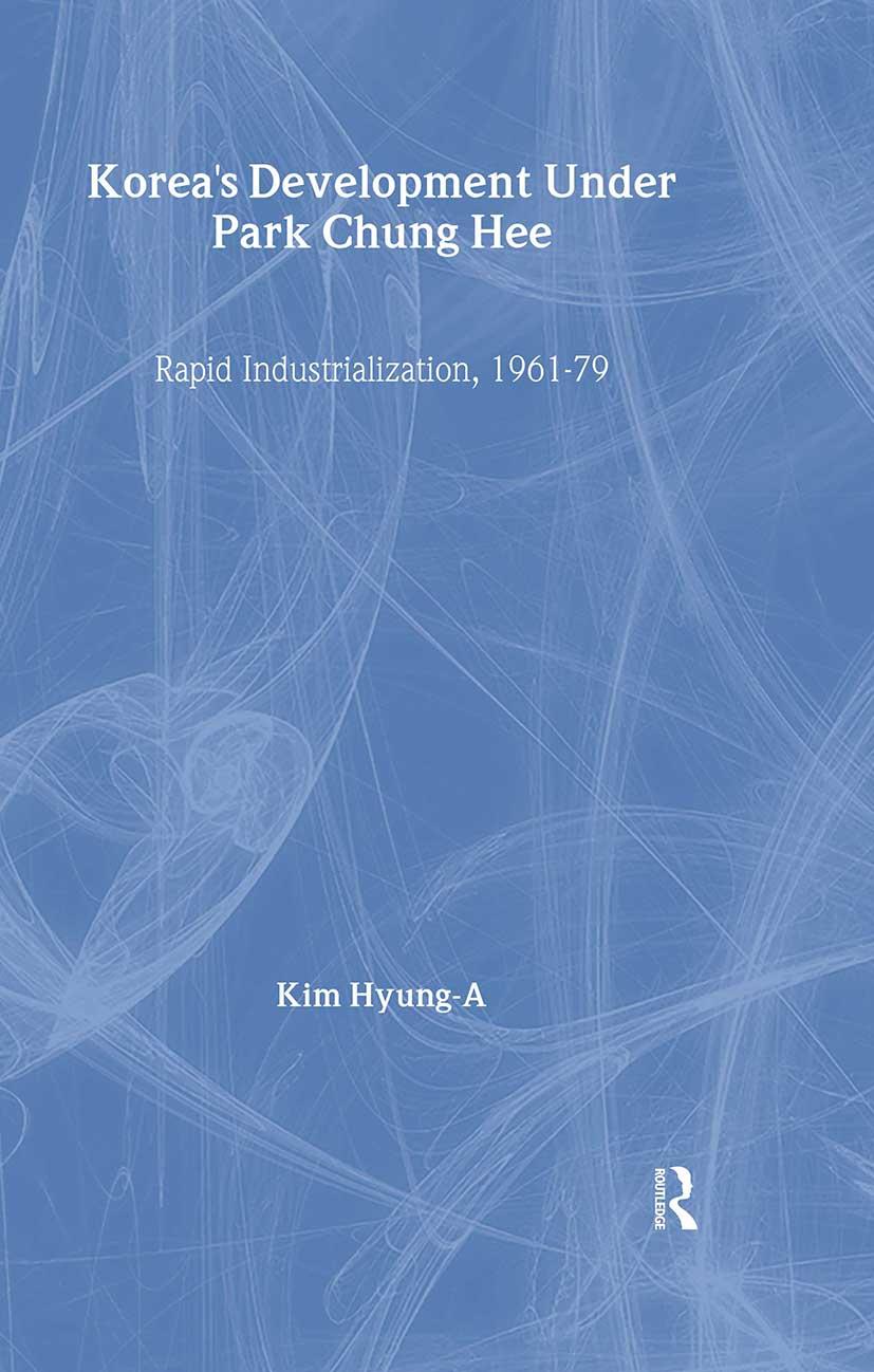 Korea's Development Under Park Chung Hee book cover