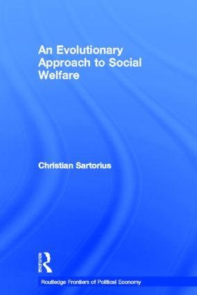 An Evolutionary Approach to Social Welfare: 1st Edition (Hardback) book cover